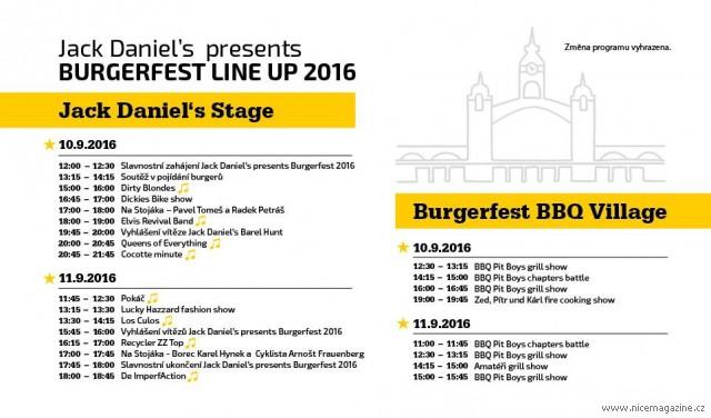 BURGER FEST 2016 v areálu Výstaviště Holešovice od 10 do 11  září